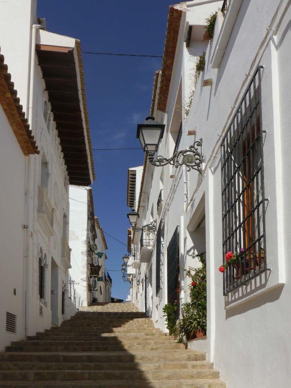 Townhouses in Altea