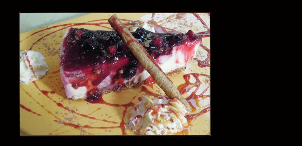 Torta de Queso Selva Negra de Españo