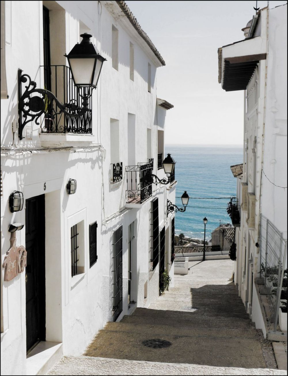 Townhouses in Altea - The Way to The Beach