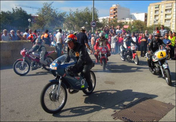 Classic Motorcycle Racing in Oliva Town Ⅰ