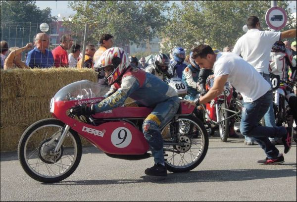 Classic Motorcycle Racing in Oliva Town Ⅱ