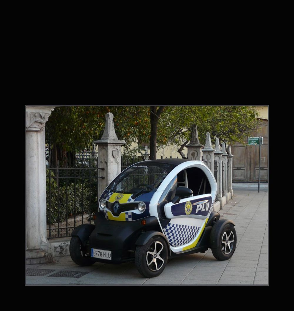 Electric Police Car