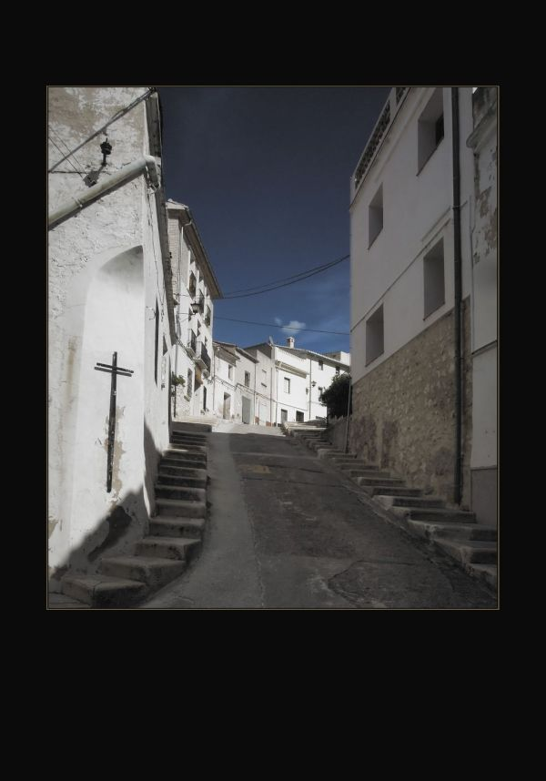 The Old Town of La font d'en Carros
