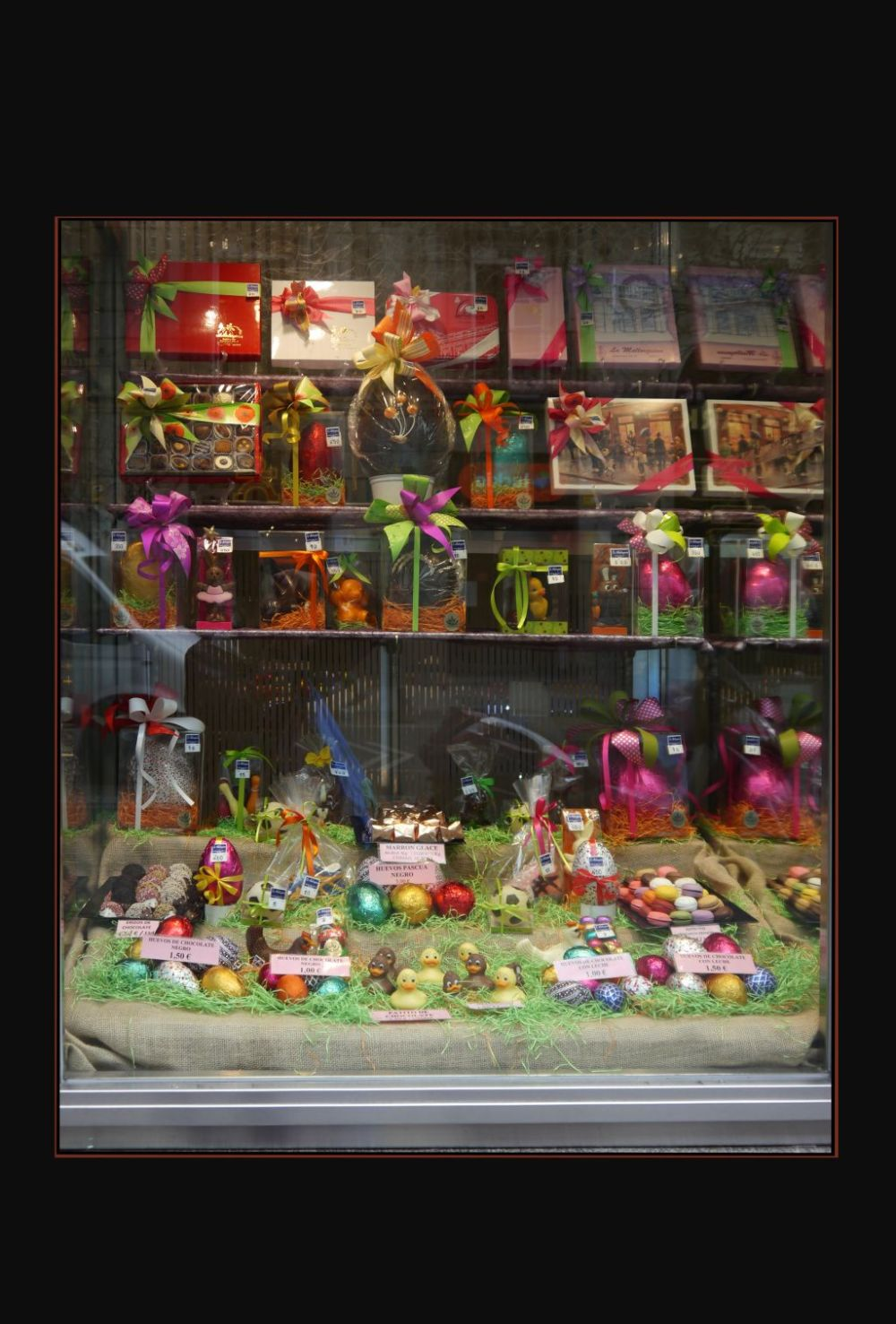 Various Easter Chocolates at The Shop Window