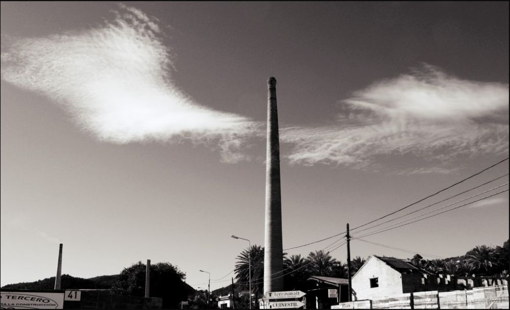 A Chimney & Clouds