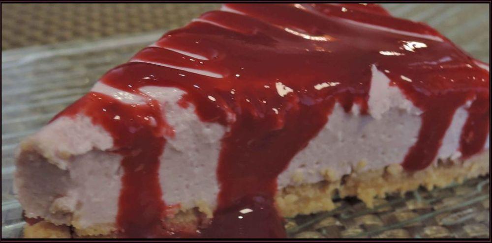 Raspberry Cheesecakes