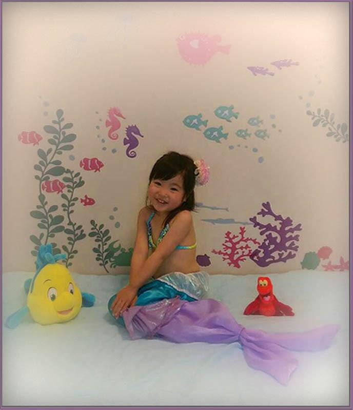 Mei as The Little Mermaid