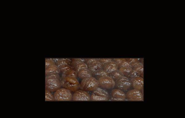 Castañas Confitadas - Spanish style marron glacé
