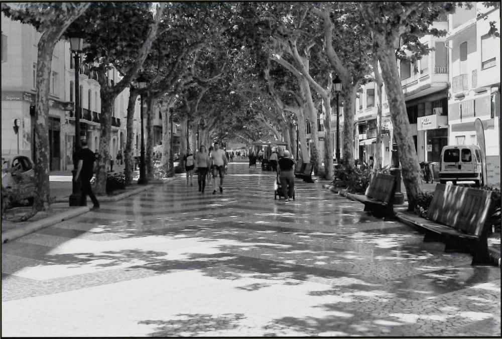Gansdia Promenade in Early Summer