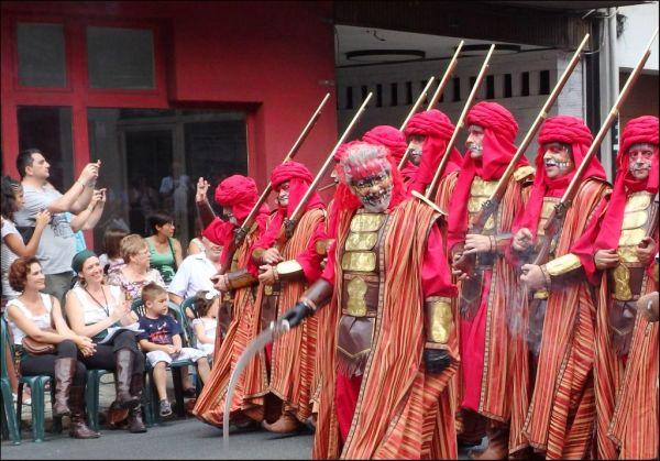 Fiestas de Moros y Cristianos de Oliva
