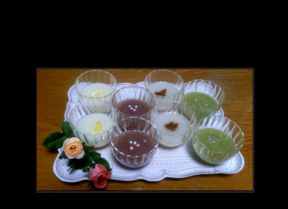 Kudzu Jello Desserts