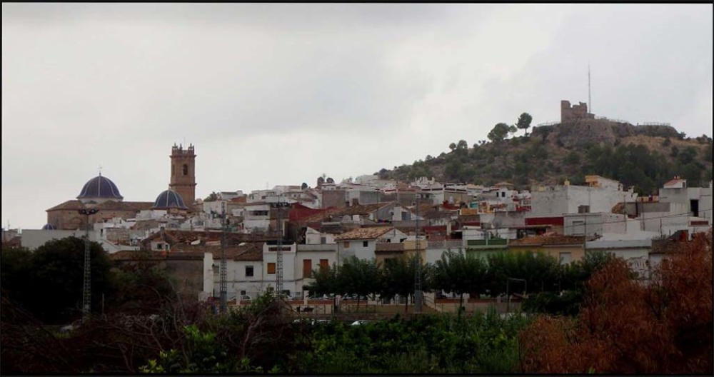 Oliva Town from The Orange Fields