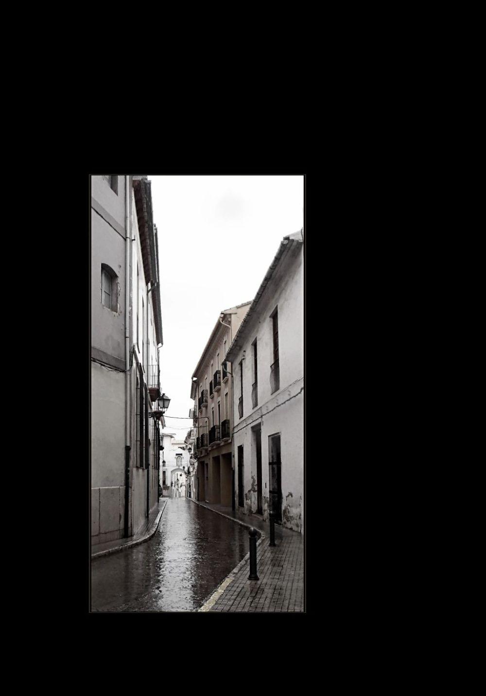 On a Rainy Day in Oliva