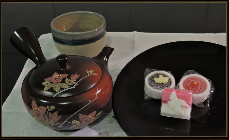 Tea Break - Green Tea with  KYOGASHI Candy Jellies