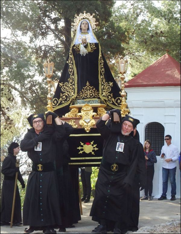 Semana Santa Procession at St. Ana