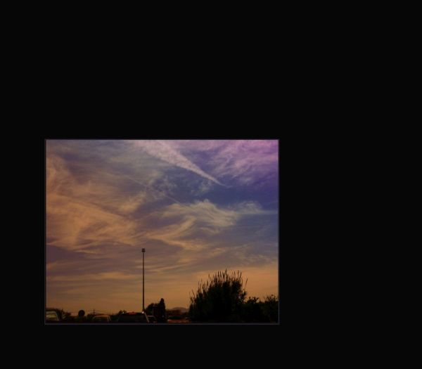 Cirrus from The Car Window