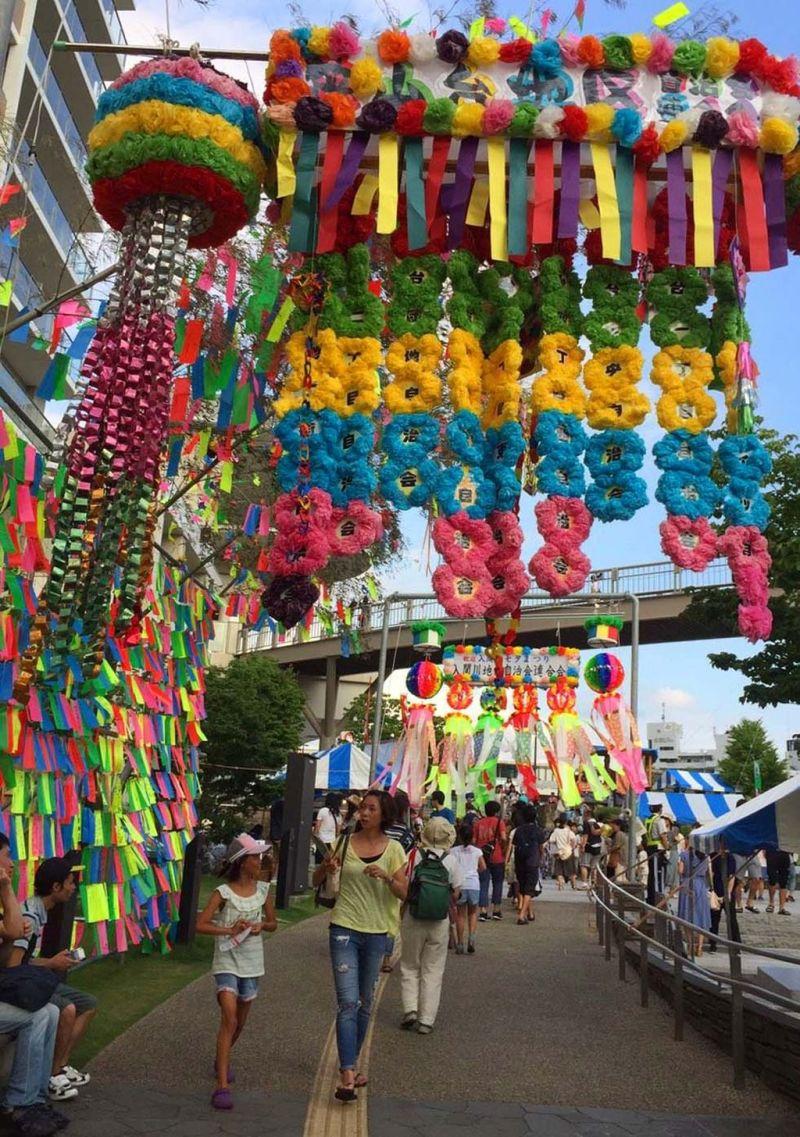 Sayama City Irumagawa Tanabata Festival