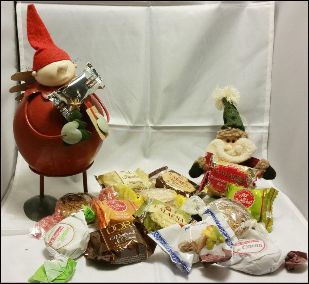 Mantecados de Almendra de Navidad