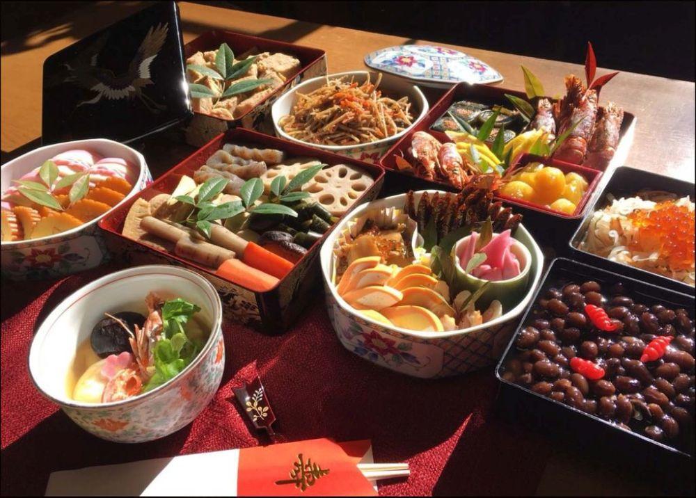 Osechi-ryōri - Japanese New Year foods