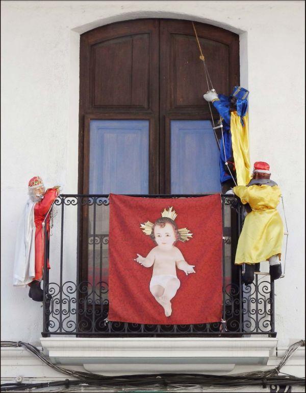 Los Tres Reyes Magos en  Oliva