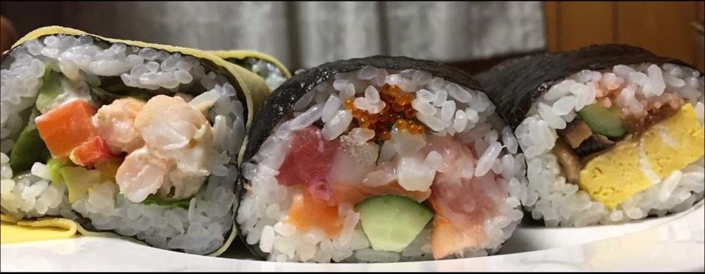 Setsubun - Good Luck with Eho Maki Sushi Rolls