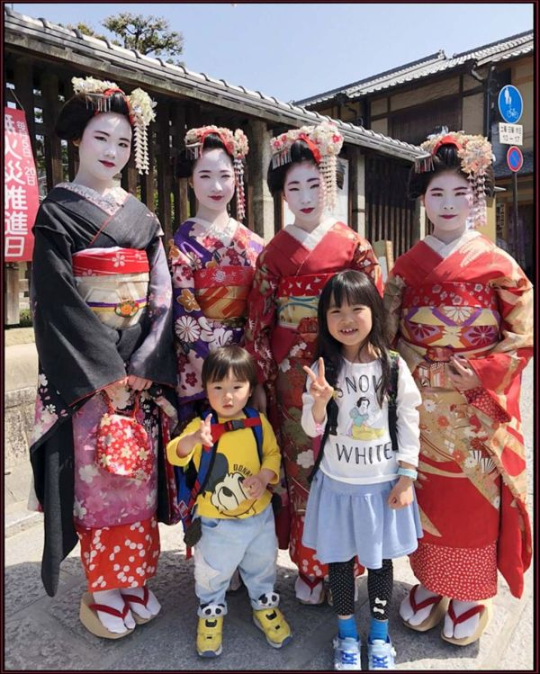 Along with Maiko in Kyoto