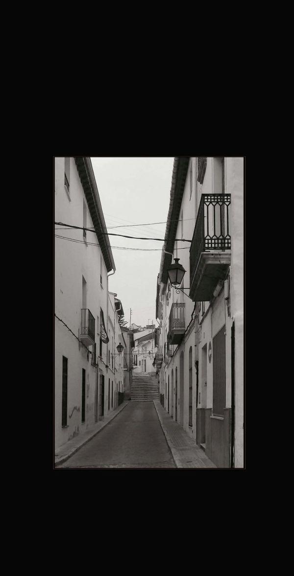 A Quiet Street in Oliva Town