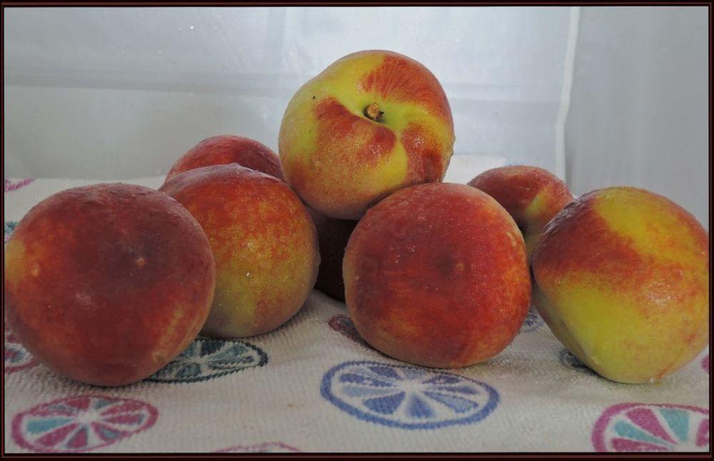 Peach - Seasonal Fruits in May