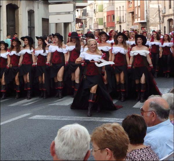 Moros y Cristianos in Oliva - Summer Festiva