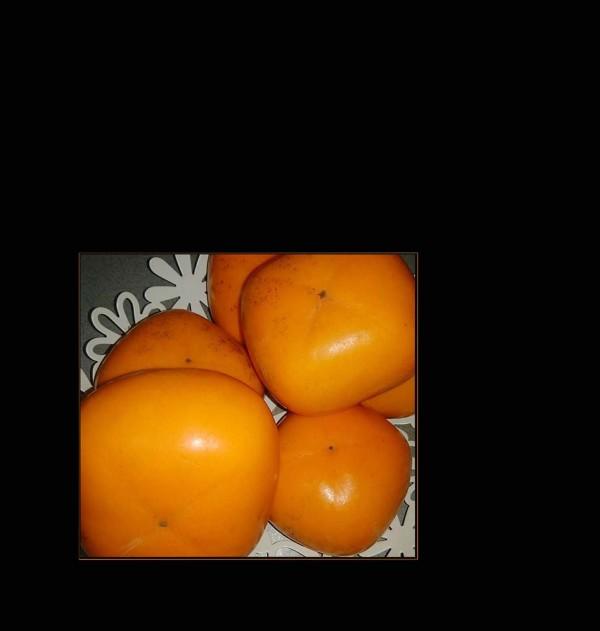 Ripe Persimmon Fruit - Kaki Jiro