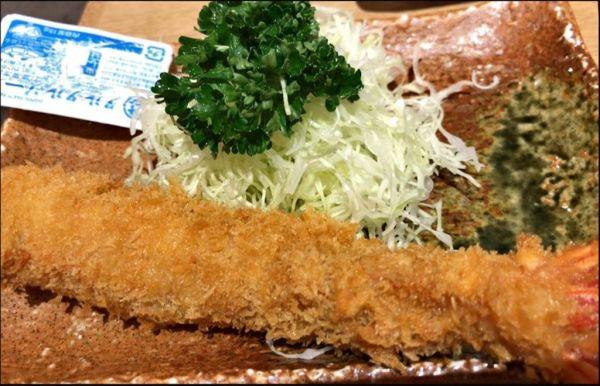 Jumbo Fried Prawn Set Meal