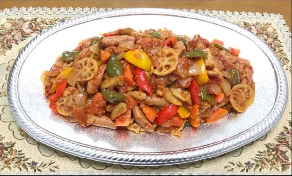 Ratatouille Style of Root Vgetables