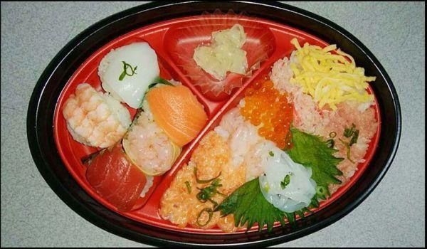 Nigiri Sushi & Chirashi Sushi Set Lunch