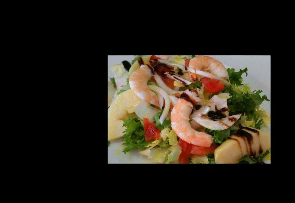 Shrimp and Apple Salad