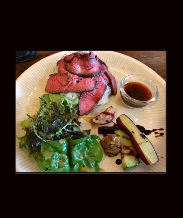 Japanese Roast Beef Bowl - Set Meal