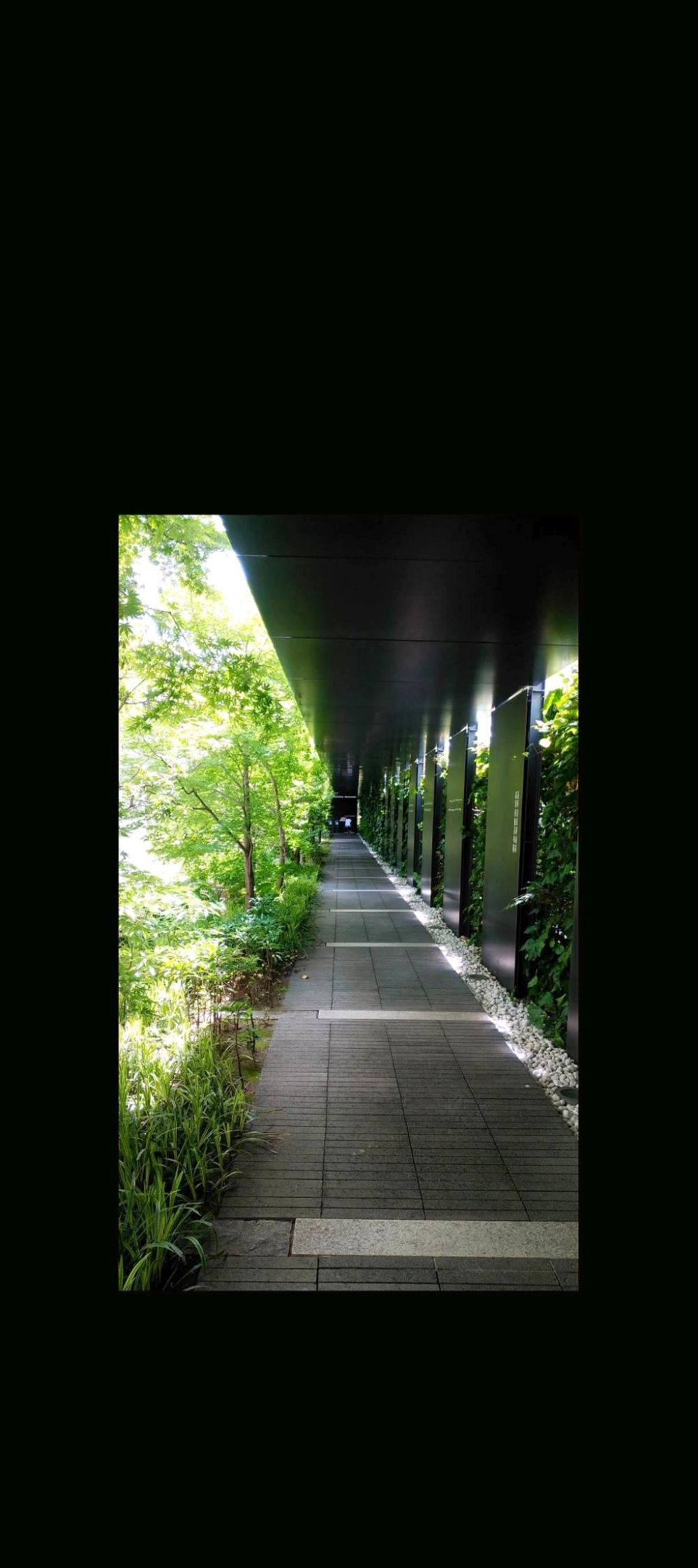 Courtyard Passa.ge of The Toyo Bunko Museum