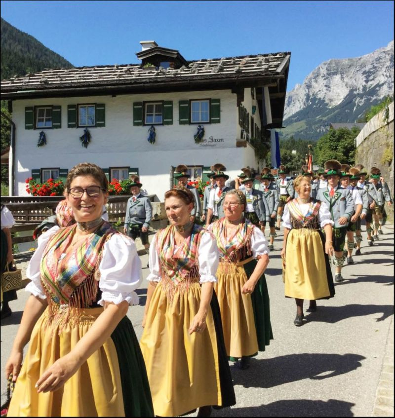 Summer Festia In Berchtesgaden of 10th Anniversary