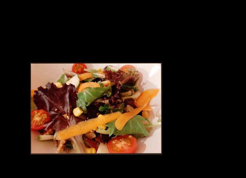 Spanish Mixed Green Salad (Ensalada Mixta)