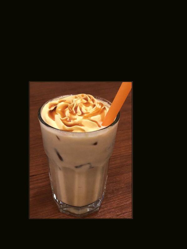 Spiced Pumpkin-Caramel Latte