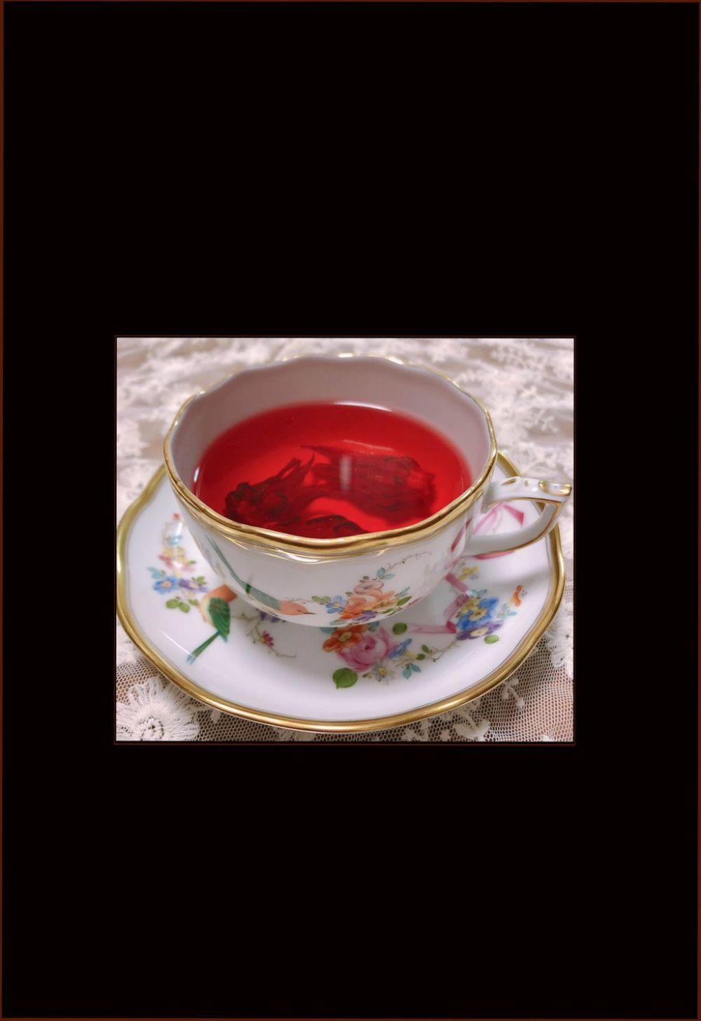 Agua de Jamaica - Hibiscus Tea