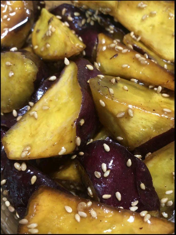 Candied Sweet Potatoes -  Daigaku Imo