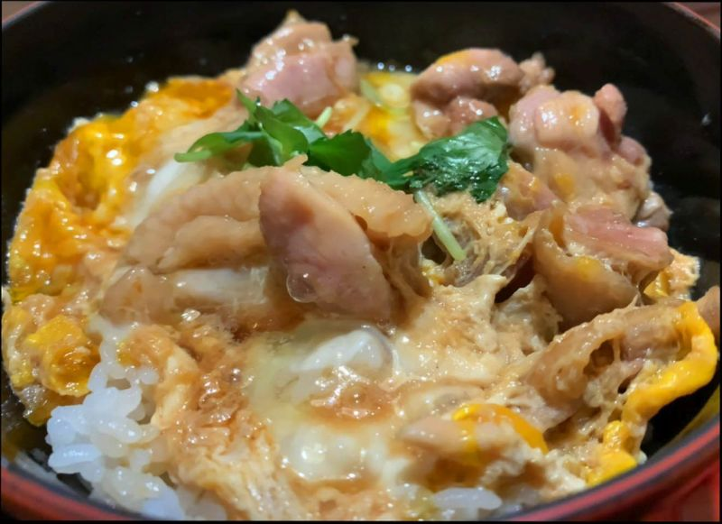 Oyakodon  -  Chicken And Egg Rice Bowl