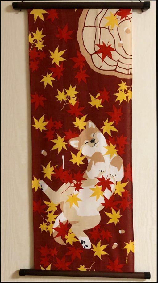 Tenugui Art of November - Japanese Handkerchief