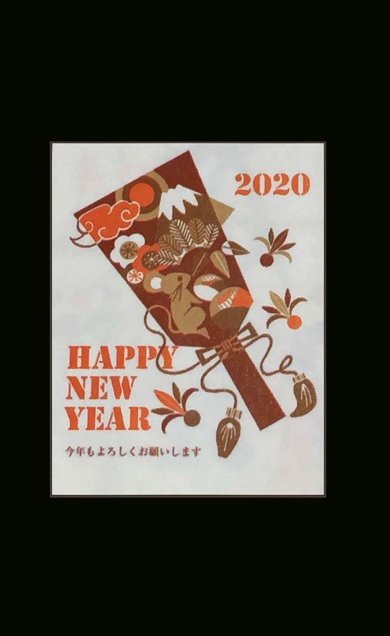 Happy New Year 2020 -Years of the Rat