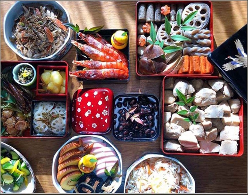 Japanese New Year's Food - Osechi