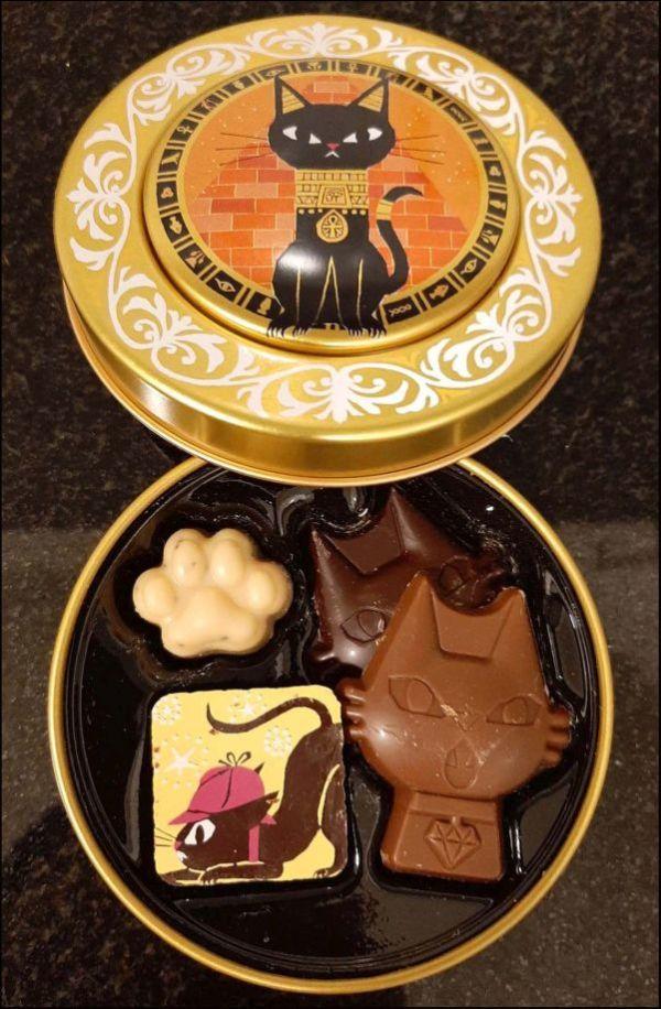Cat Shaped Chocolates