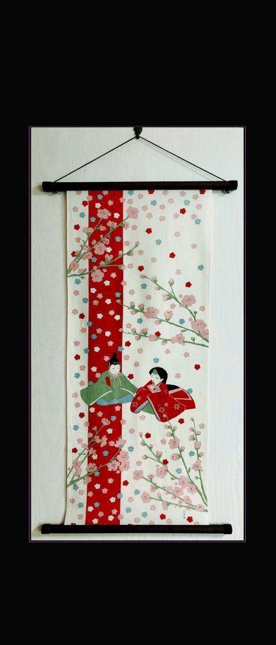 Tenugui Art of March -JapaneseTenugui Tapestry