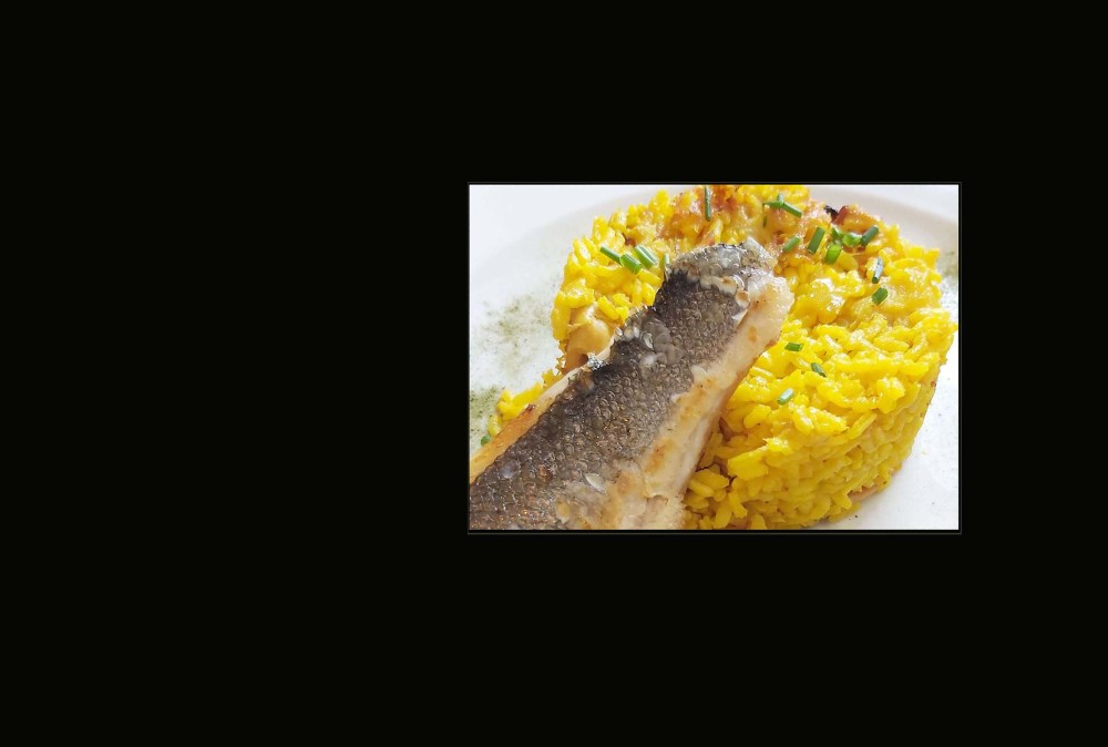 japanese Seabass  Poiret & Seafood Pilaf Rice