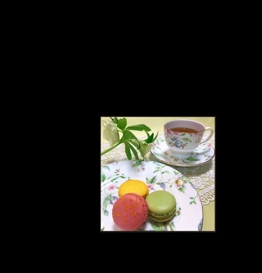 Tea Time - Macarons Pierre Herme