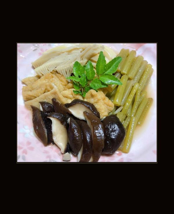 Simmered Assorted Seasonal Vegetables